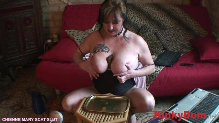 Chienne Mary French Scat Slut (Webcam Scat Show - HD 720p) [mp4 / 682 MB]