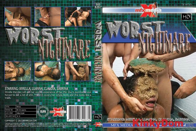 Mirella, Luanna, Claudia, Sabrina ([SD-4267] Worst Nightmare - HDRip) [mp4 / 1.27 GB]