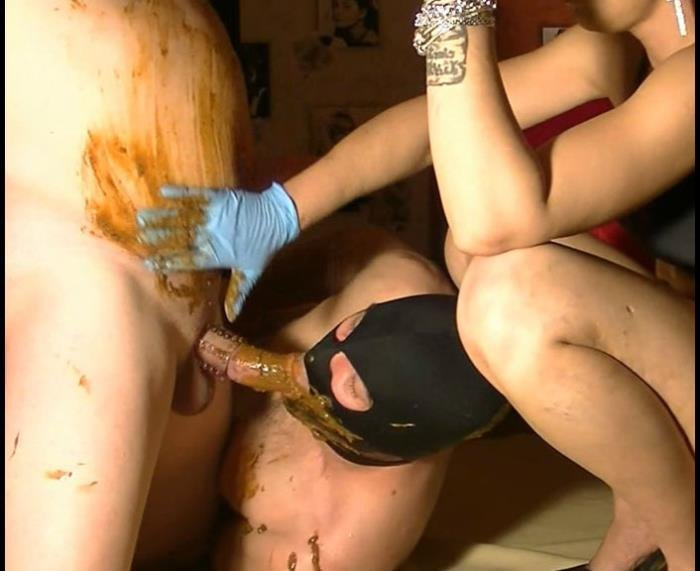 ScatVivian (Full toilet with 2 bisexual slaves - FullHD 1080p) [mp4 / 889 MB]