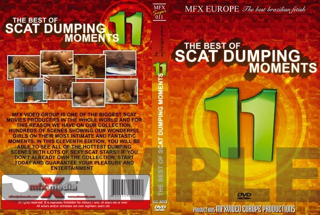 Agata Ventury, Michele Santos, Jessica, Dyana (MFX-S011 - The Best of Scat Dumping Moments 11 - DVDRip) [mpg / 1.50 GB]
