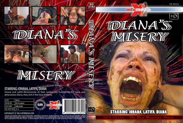 Iohana, Latifa, Diana (SD-3182 Diana's Misery - HDRip) [wmv / 1.40 GB]