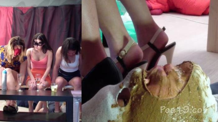 MilanaSmelly (Group use of female toilet slave - HD 720p) [mp4 / 1.36 GB]