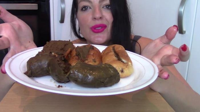 Evamarie88 (Ginormous Shit Meal For Slave (Biggest Poo To Date) - FullHD 1080p) [mp4 / 725 MB]