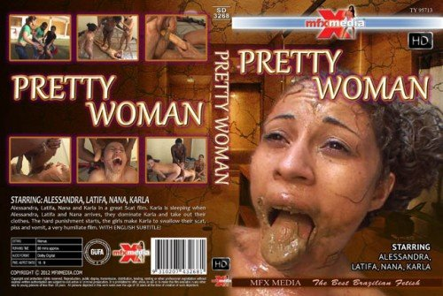 Alessandra, Latifa, Nana, Karla (SD-3268 Pretty Woman - HDRip) [wmv / 1.35 GB]