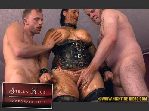 Stella, 3 males (STELLA BLUE, CORPORATE SLUT - HD 720p) [mp4 / 594 MB]