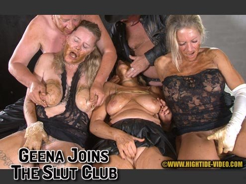 Geena, Molly, Sexy, 2 males (GEENA JOINS THE SLUT CLUB - HD 720p) [mp4 / 594 MB]